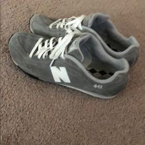 Grey New Balance shoes. Size 10.